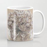 humor Mugs featuring A Sense of Humor by busymockingbird