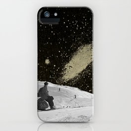 Staring iPhone Case