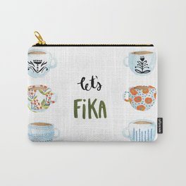 Let's Fika Carry-All Pouch