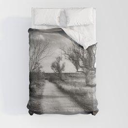 Black&White November Day Comforters