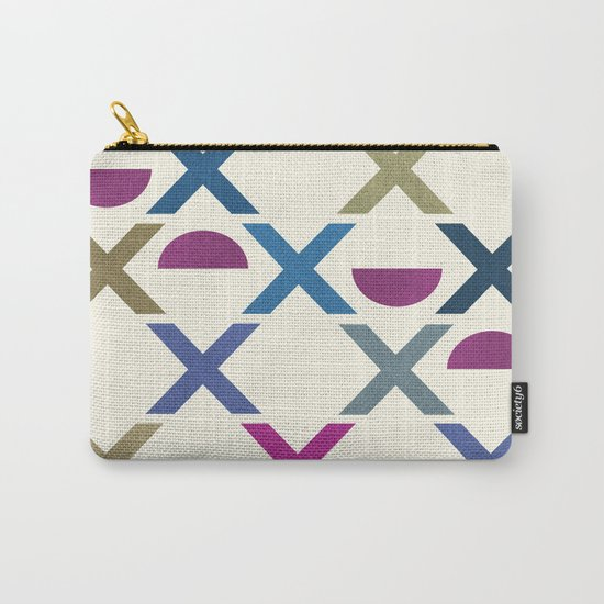 Abstract Unique Pattern Carry-All Pouch