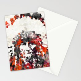 Modern Red Indian Chief - Sharon Cummings Stationery Cards