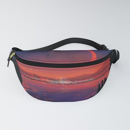 NASA Visions of the Future - Planet Hop from Trappist-1e Fanny Pack