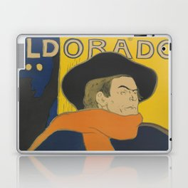 "Henri de Toulouse-Lautrec ""Eldorado: Aristide Bruant"" Laptop & iPad Skin"