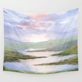 Imaginary Landscape Wall Tapestry