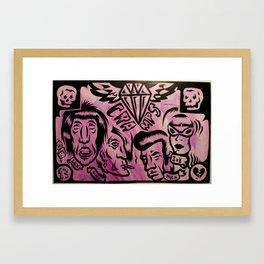 Cramped Framed Art Print