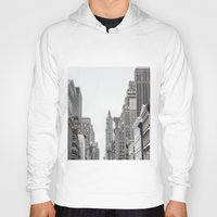 broadway Hoodies featuring Broadway - NY by Basma Gallery