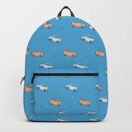 Cartoon cute car pattern Backpack