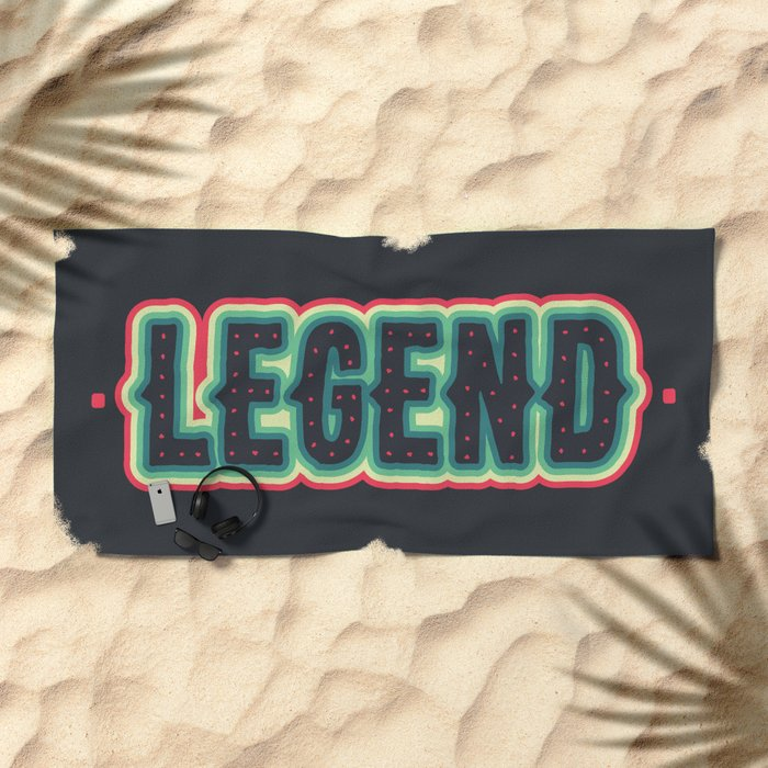 Legend Beach Towel