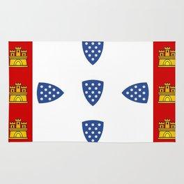 Old Portuguese flag Rug