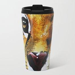 cheetah/jaguar Travel Mug