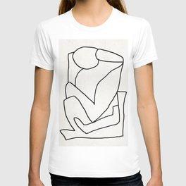 Abstract line art 2 T-shirt
