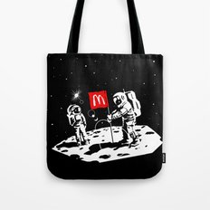 First we take Manhattan, Then we take Moon Tote Bag