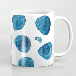 Bubbles floating in the air. Coffee Mug