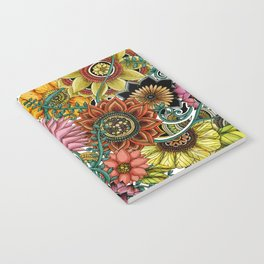 Flower explosion Notebook