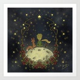 Little Prince / El Principito Art Print