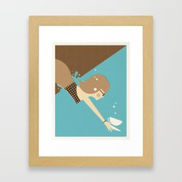Fresh Coffee Framed Art Print