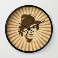 rocky Wall Clocks featuring Rocky by Durro