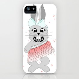 Miss Rapeti (peachy perfect) iPhone Case