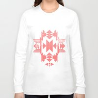 tribal Long Sleeve T-shirts featuring Tribal by Molnár Roland