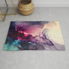 Mission Fusion - Mixed Media Painting Rug