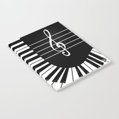 Piano Keys II Notebook