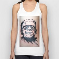 frank Tank Tops featuring Frank by Corey Remington