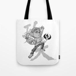 KungFu Zodiac - Monkey Tote Bag