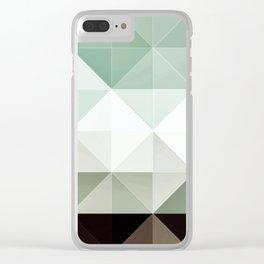 Apex geometric II Clear iPhone Case