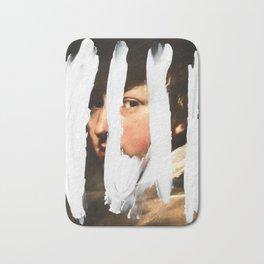 Untitled (Finger Paint 2) Bath Mat
