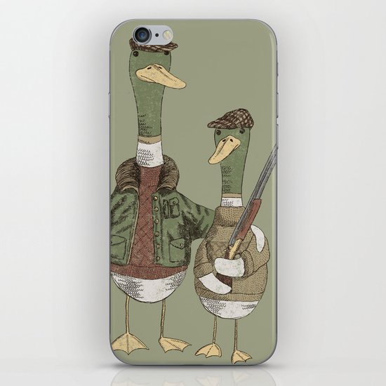 Hunting Ducks iPhone & iPod Skin