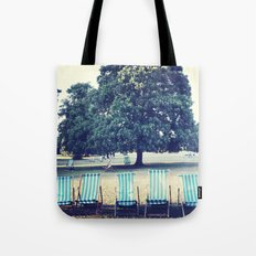 Hyde Park Chairs Tote Bag