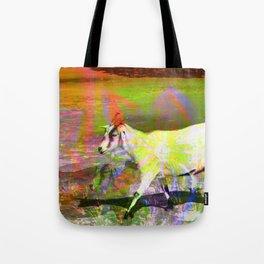 goat flower Tote Bag