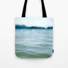Wave Bokeh The Deep End Tote Bag