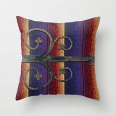 Locks Throw Pillow