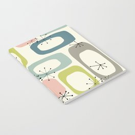 Mid Century Modern Shapes #society6 #buyart Notebook