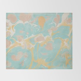 Marble 10 Throw Blanket