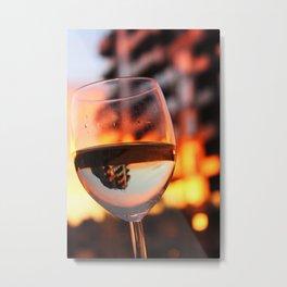 The Hour Is Wine Metal Print