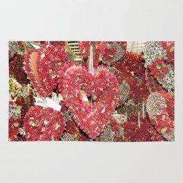 Heart's Full Of Flowers Rug