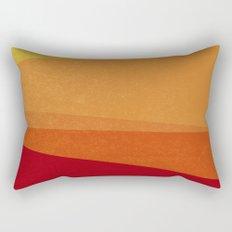 Stripe X Orange Peel Rectangular Pillow