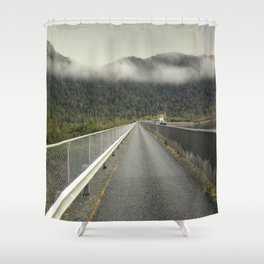 MacIntosh Dam Wall Shower Curtain