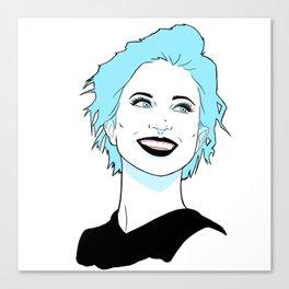 Hayley Williams Canvas Print