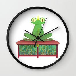 THE FROG Wall Clock