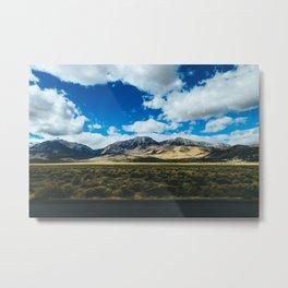 Eastern Sierras II - Hwy 395 Metal Print