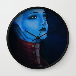 Mass Effect - Liara T'Soni Wall Clock