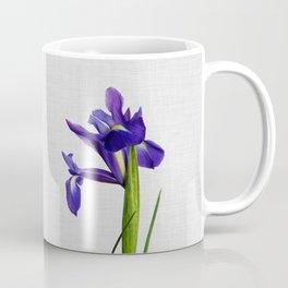 Iris Still Life, Flower Photography Coffee Mug