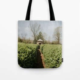 Hedge Maze Labyrinth - New Harmony, Indiana Tote Bag