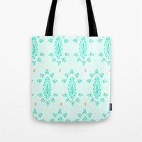 emerald Tote Bags featuring Emerald by Laela's Heart