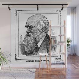 Charles Robert Darwin Wall Mural