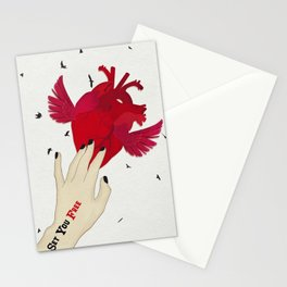 Set you free Stationery Cards